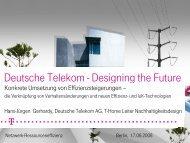 und luK-Technologien - Netzwerk Ressourceneffizienz