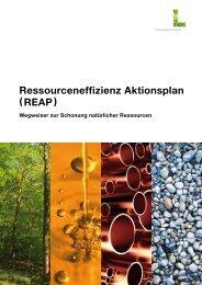 Ressourceneffizienz Aktionsplan ( REAP ) - Lebensministerium