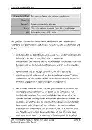 Statement Bundesumweltminister Altmaier
