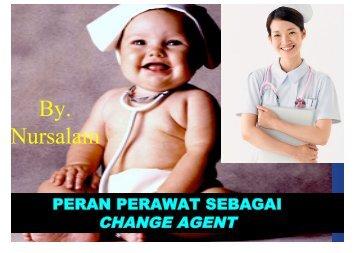change agent - Fakultas Keperawatan - Unair
