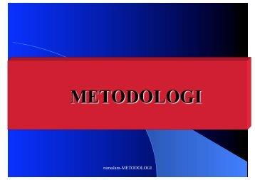 nursalam-METODOLOGI - Fakultas Keperawatan - Unair
