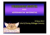 Bioetik Maternitas A 2009 ok - Fakultas Keperawatan - Unair