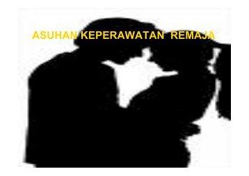 askep remaja new - Fakultas Keperawatan - Unair