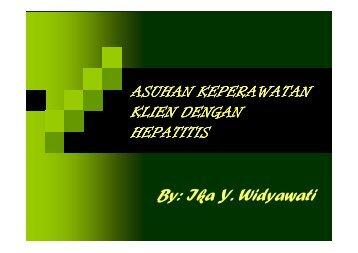 Asuhan Keperawatan Klien dengan Hepatitis - Fakultas ...