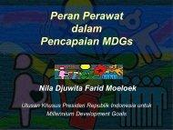 Peran Perawat dalam Pencapaian MDGs