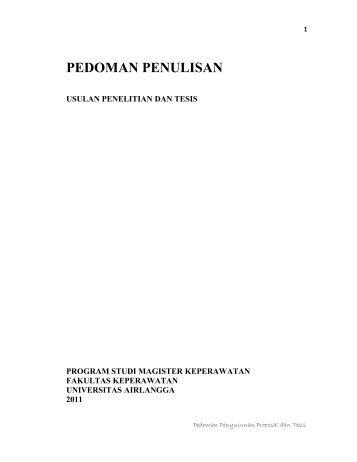 Lampiran Surat Keputusan Direktur - Fakultas Keperawatan - Unair