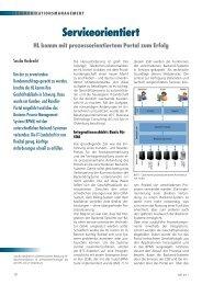Serviceorientiert HL komm mit prozessorientiertem Portal zum ... - NET