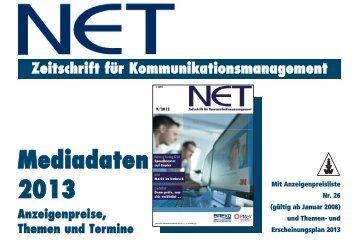 Mediadaten 2013 deutsch - NET