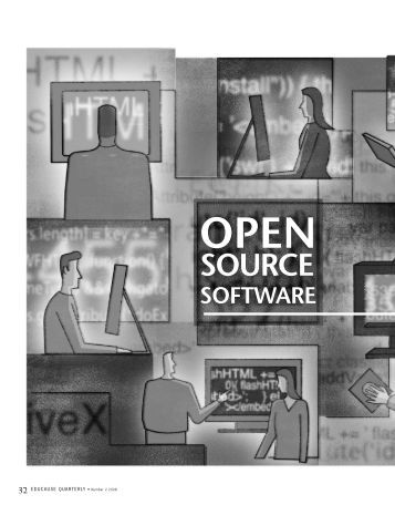 Open Source Software in Education - EDUCAUSE.edu