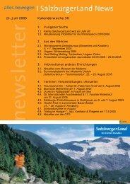 Nummer 30/2005 - SalzburgerLand Netoffice