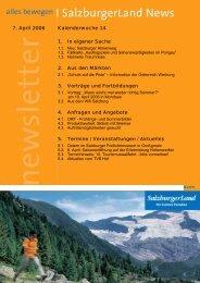 Nummer 14/2006 - SalzburgerLand Netoffice