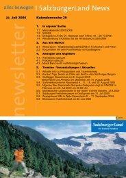 Nummer 29/2005 - SalzburgerLand Netoffice
