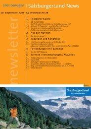 Nummer 39/2006 - SalzburgerLand Netoffice