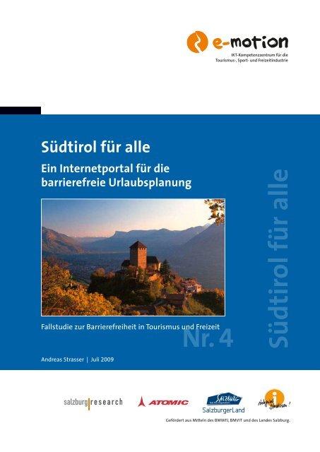 Fallstudie Südtirol für alle - SalzburgerLand Netoffice