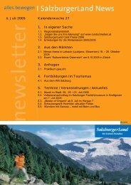Nummer 27/2005 - SalzburgerLand Netoffice