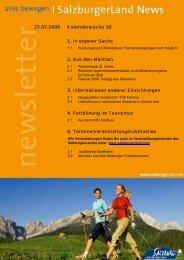 Nummer 30/2008 - SalzburgerLand Netoffice