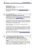 3. Informationen anderer Einrichtungen 4. Fortbildung im Tourismus - Seite 3