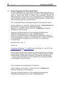 3. Informationen anderer Einrichtungen 4. Fortbildung im Tourismus - Seite 5