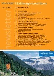 Nummer 28/2005 - SalzburgerLand Netoffice