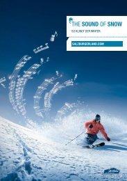 the sound of snow - SalzburgerLand Netoffice