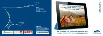 EIN LADUNG - SalzburgerLand Netoffice