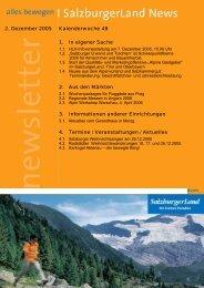 Nummer 48/2005 - SalzburgerLand Netoffice
