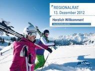 Regionalrat - Dezember 2012 Pdf (7MB) - Download