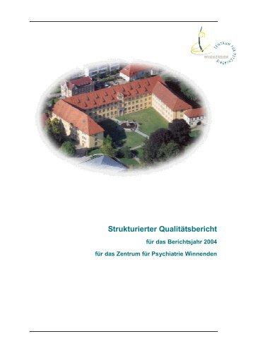 QM Bericht ZfP winnenden 2004 - MedizInfo