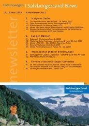 Nummer 2/2005 - SalzburgerLand Netoffice