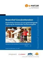 Fallstudie Bauernhof Grossbretteneben - SalzburgerLand Netoffice