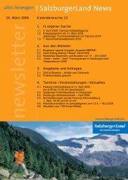 Nummer 12/2005 - SalzburgerLand Netoffice