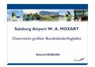 Salzburg Airport W. A. MOZART - SalzburgerLand Netoffice