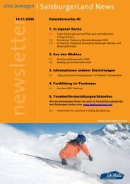 Nummer 46/2008 - SalzburgerLand Netoffice