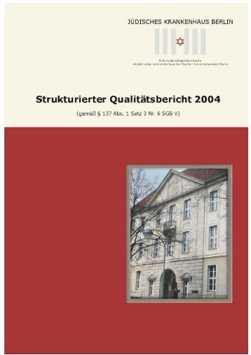 strukturierter Qualitätsbericht von 2004