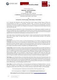 Podiumsdiskussion Meinungs- und Pressefreiheit ... - Network Turkey