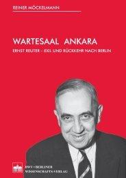 Wartesaal Ankara: Ernst Reuter—Exil und - Network Turkey