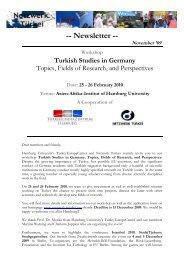 0911 Newsletter English - Network Turkey