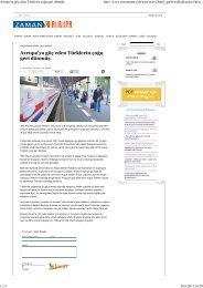 Avrupa'ya göç eden Türklerin çogu geri dönmüş - Network Turkey