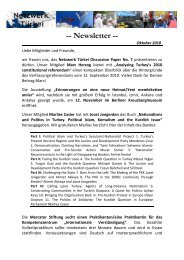 Newsletter - Network Turkey