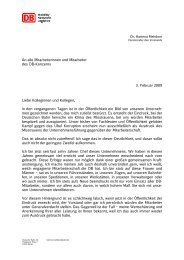 An alle Mitarbeiterinnen und Mitarbeiter des DB ... - Netzpolitik