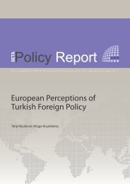 European perceptions of Turkish foreign policy - SETA