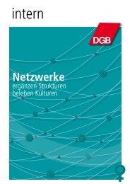Netzwerke ergänzen Strukturen beleben Kulturen PDF 311 KB