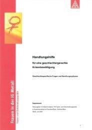Handlungshilfe für eine geschlechtergerechte Krisenbewältigung PDF