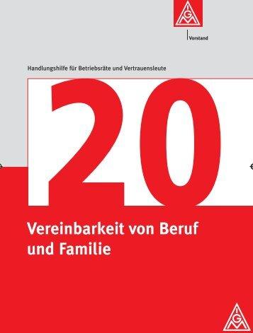Kurzfassung der BroschürePDF - IG Metall Netzwerk ...