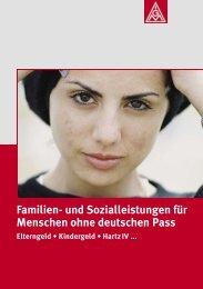 Familien- und Sozialleistungen für MigrantInnen - IG Metall ...