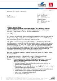 Einladung und Anmeldeformular - IG Metall Netzwerk ...
