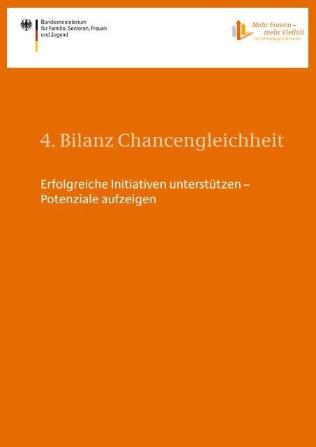 4. Bilanz Chancengleichheit - BDI