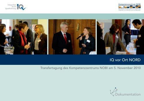 IQ vor Ort NORD - Netzwerk Integration durch Qualifizierung (IQ)