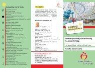 Flyer Infotag Wiedereinstieg 2013 - Jena