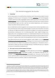 Das Anerkennungsgesetz des Bundes - Netzwerk Integration durch ...